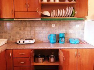 Studio 34m2 Πλαταμώνας Δωμάτια - Κουζίνα